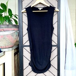 Banana Republic Black Dress w Side Lower Zipper